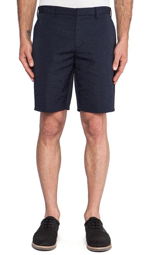Tonal Leopard Slim Short