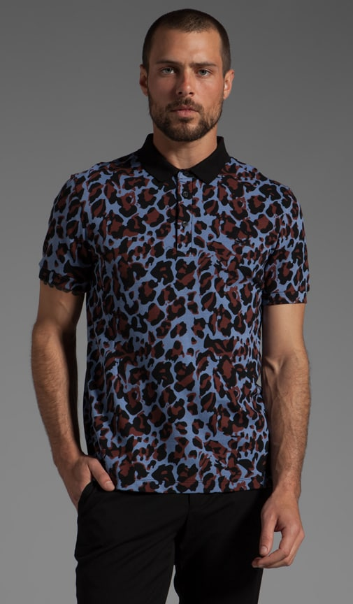 Fred Perry Panther Print Shirt Polo
