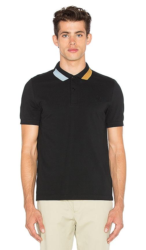 Block Tipped Pique Shirt