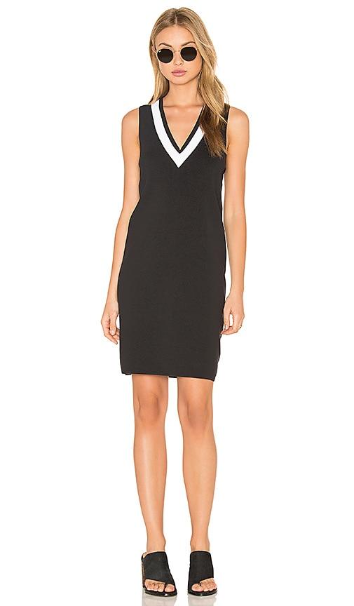 rag & bone/JEAN Ainsley Dress in Black & White