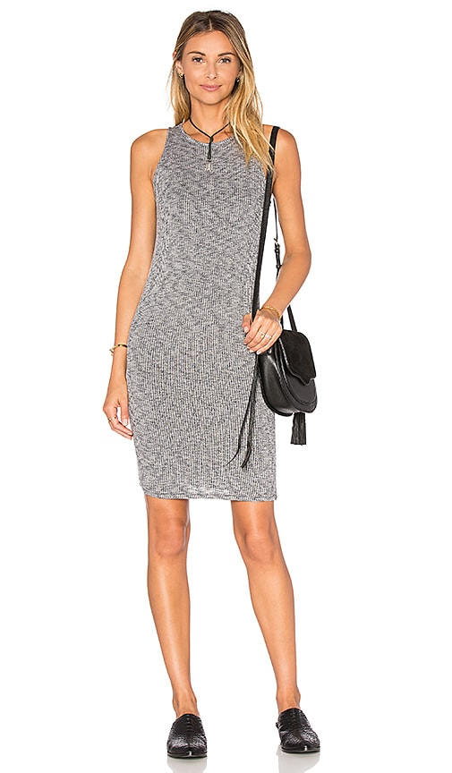 rag & bone/JEAN Highland Tank Dress in Gray