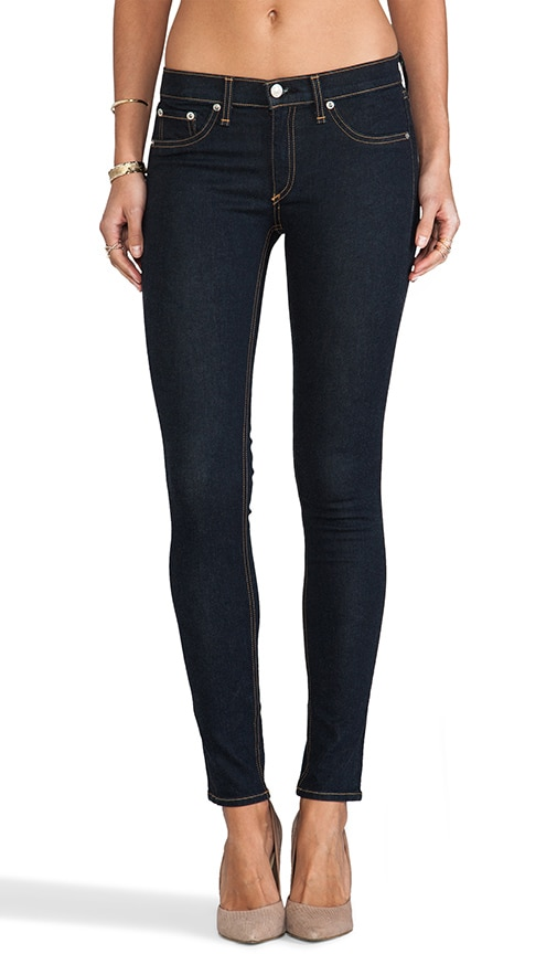 3af0a90100de84 rag & bone/JEAN The Legging in Clean Indigo | REVOLVE