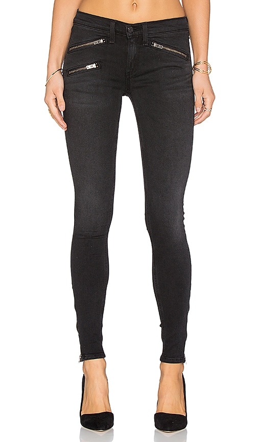 rag & bone/JEAN RBW 23 Skinny in Washed Black