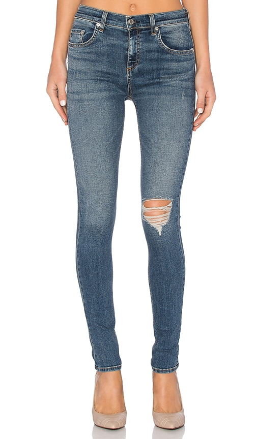 rag & bone/JEAN High Rise Skinny in Ward