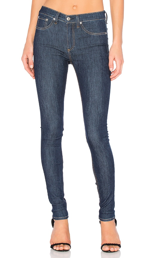 rag & bone/JEAN High Rise Skinny in Astor