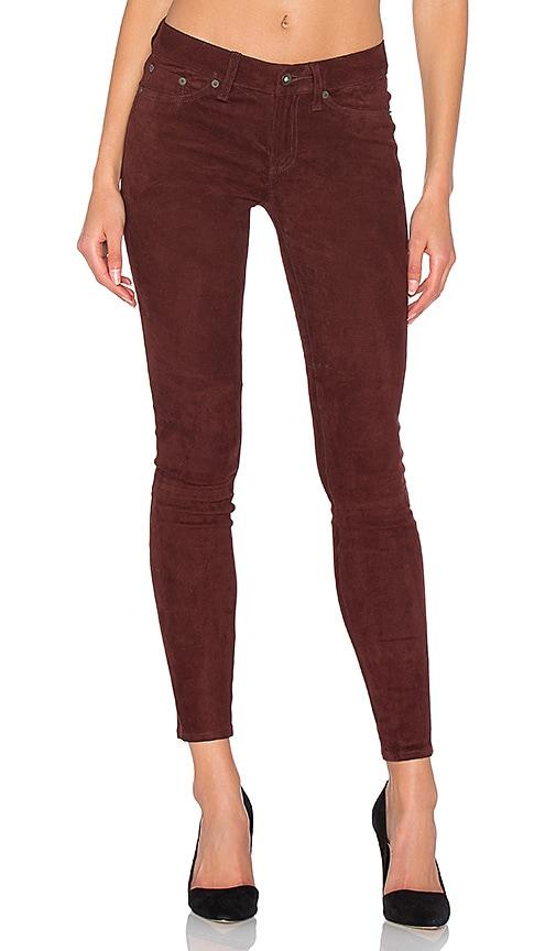 Skinny Suede Pants