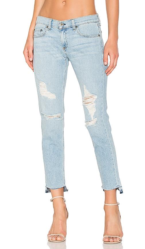 Dre Jeans Capri - Chiffon Bleu Et D'os BRzmH8