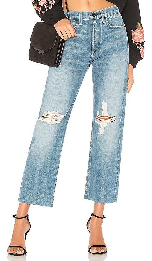 rag & bone/JEAN Straight Jean in Shaker