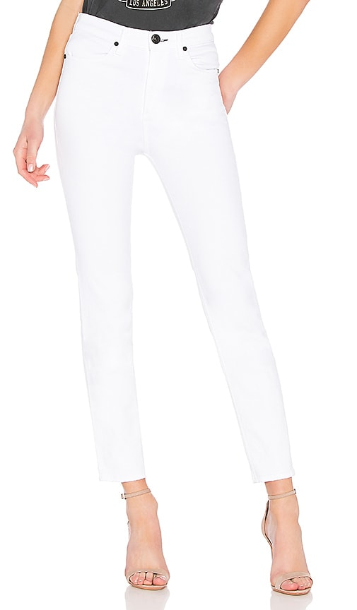 rag & bone/JEAN Cigarette Jean in White