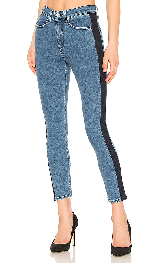 rag & bone/JEAN Mazie Jean in Double Indigo