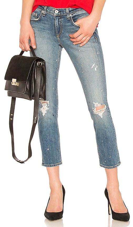 rag & bone/JEAN Ankle Dre Jean in Lucky