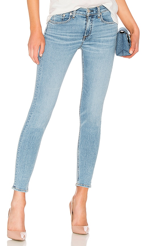 rag & bone/JEAN Skinny Jean in Nelly