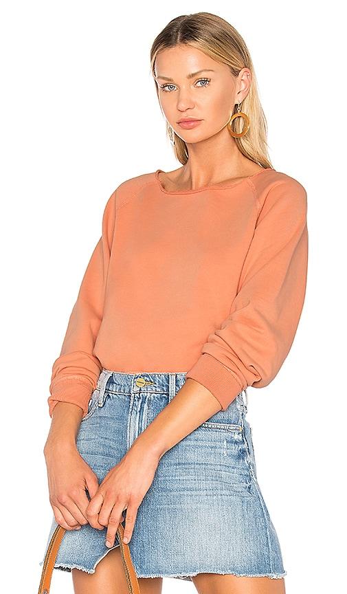 rag & bone/JEAN Classic Pullover in Orange