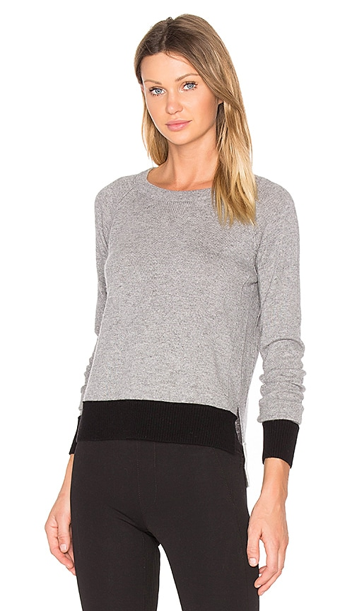 rag & bone/JEAN Charley Pullover in Grey