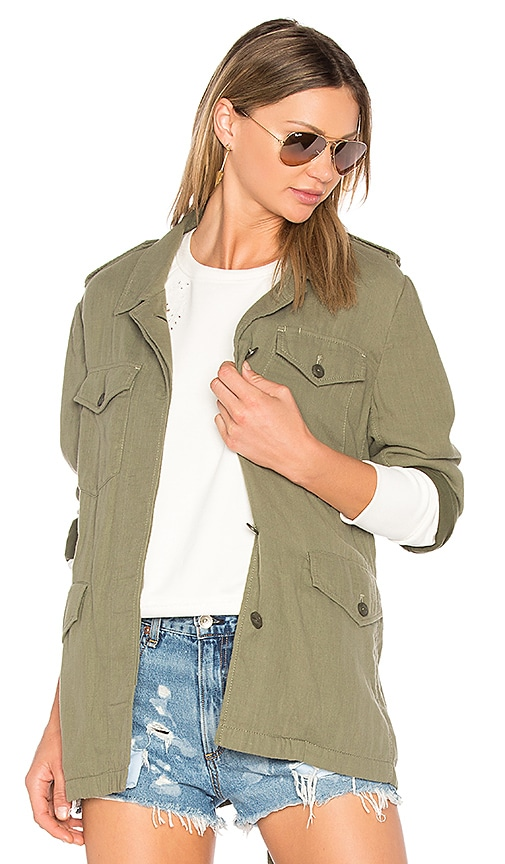 rag & bone/JEAN Bennett Jacket in Army