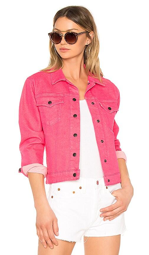 rag & bone/JEAN Nico Jacket in Bull Pink