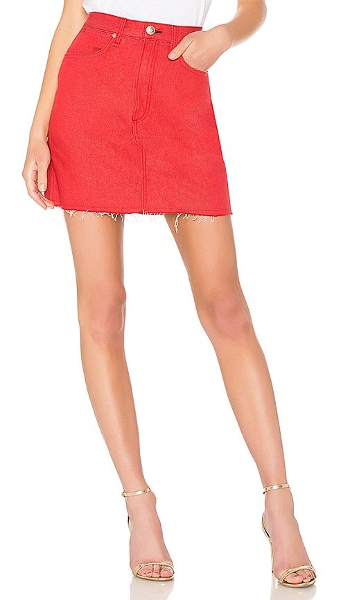 c98dc8e547 rag & bone/JEAN Moss Skirt in Bull Red. Previous Slide. Next Slide. Close  Modal. Moss Skirt