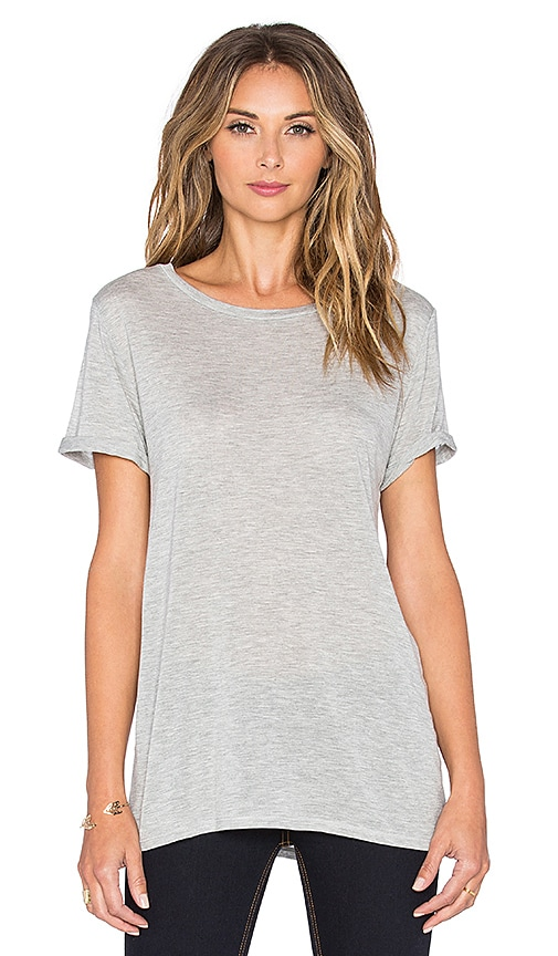 rag & bone/JEAN Concert Tee in Heather Grey