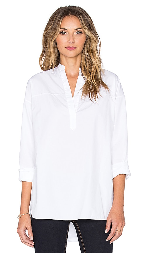 rag & bone/JEAN Barcelona Tunic in Bright White