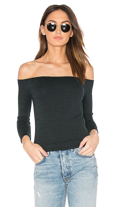rag & bone/JEAN Donna Top in Charcoal
