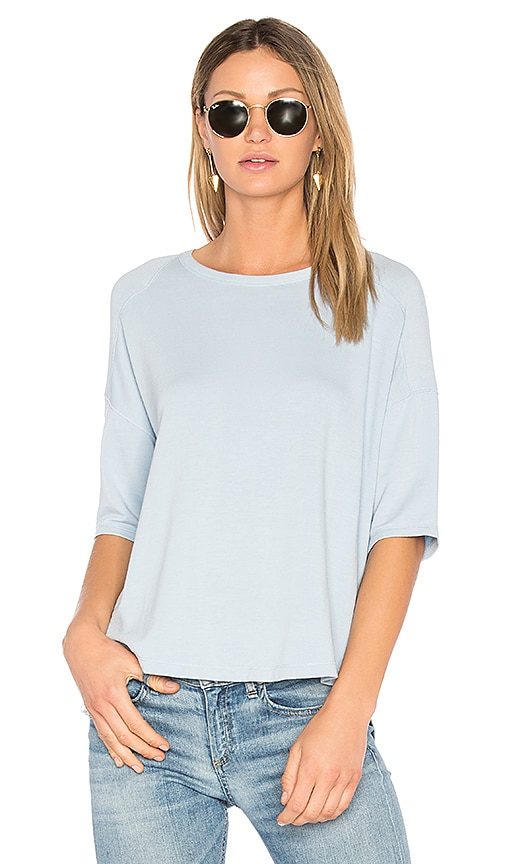 rag & bone/JEAN Phoenix Tee in Baby Blue