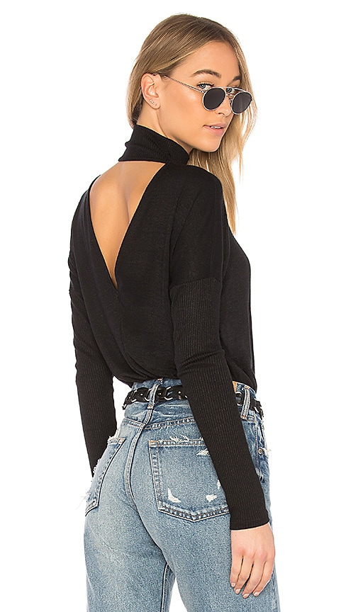 rag & bone/JEAN Amelie Top in Black