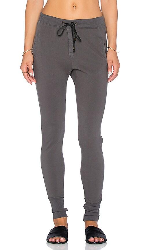 Ragdoll Pique Pant in Dark Grey
