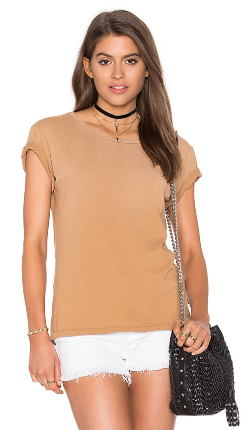 Ragdoll Vintage Tee in Tan