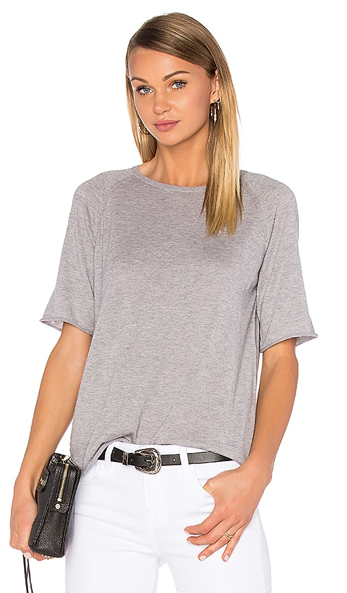 Ragdoll Cashmere Tee in Grey