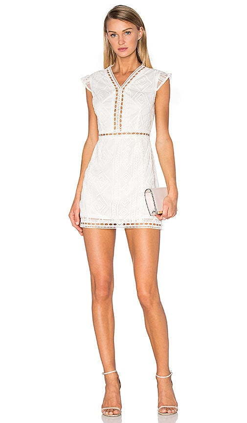 Raga In Plain Sight Dress in White