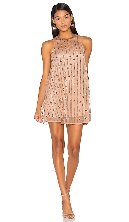 Raga Crystal Rose Dress in Beige