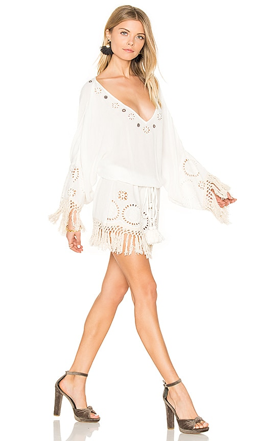 Raga Sequoia Tunic Dress in White