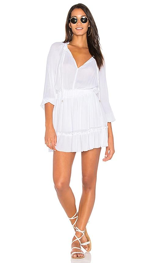 Raga In St. Martin Dress in White