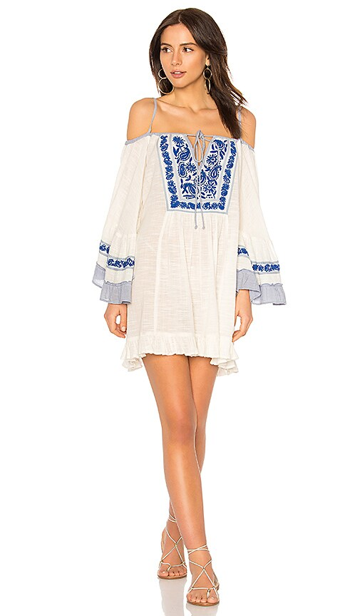 Eva Cold Shoulder Short Dress