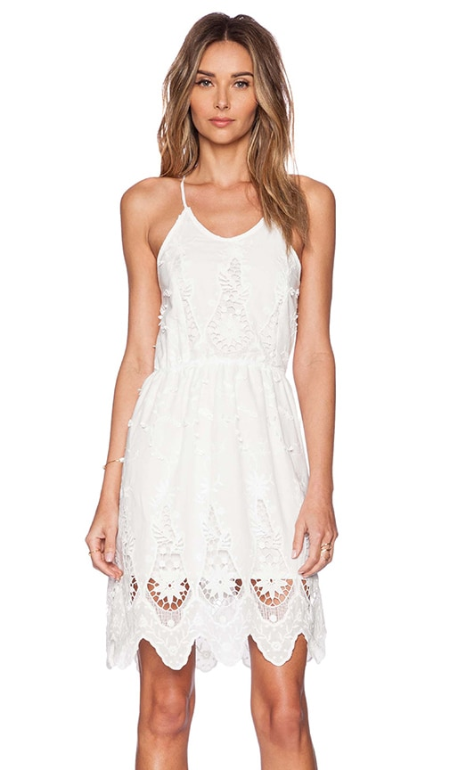 Raga Sweet Nothing Mini Dress in White