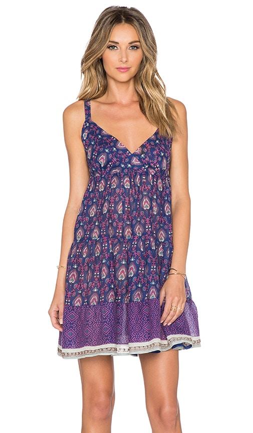 Raga Indigo Baby Doll Dress in Purple