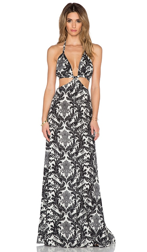 Blackbird Cutout Maxi Dress