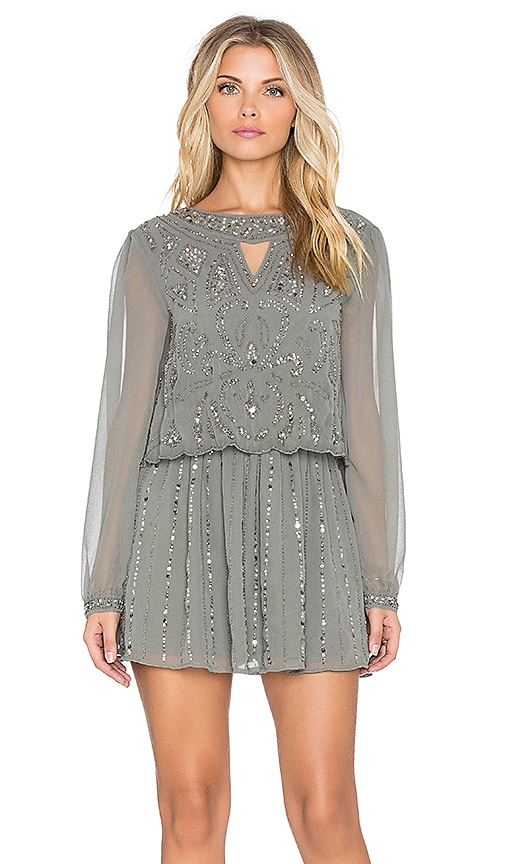Raga Take Me For Granite Dress in Grey