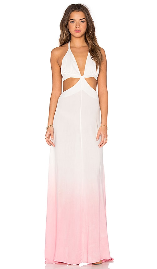 Raga Fairy Dust Cutout Dress in Cloud Pink