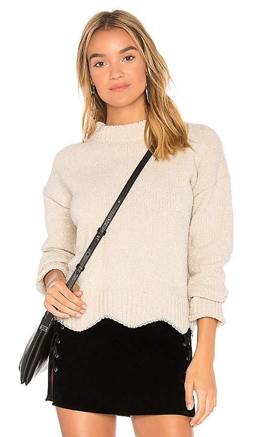 Raga Maribelle Crewneck Sweater in Beige