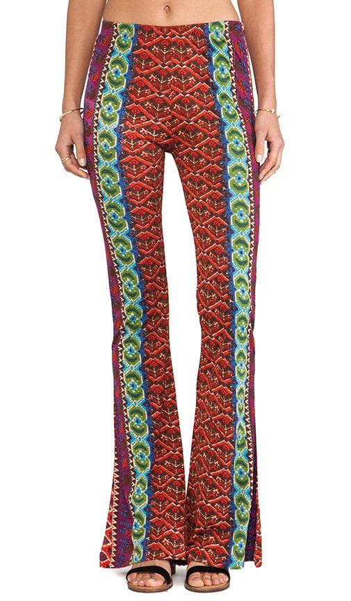 Printed Wide Leg Pants