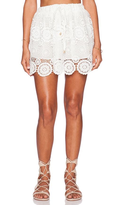 Raga Lovely Mini Skirt in White