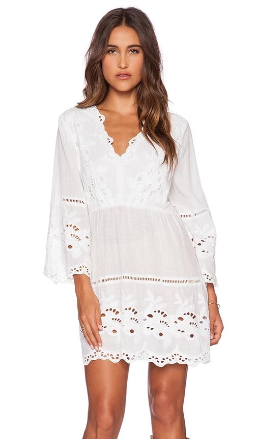 Raga Antique Beauty Tunic in White