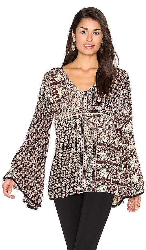 Raga Harvest Moon Top in Black
