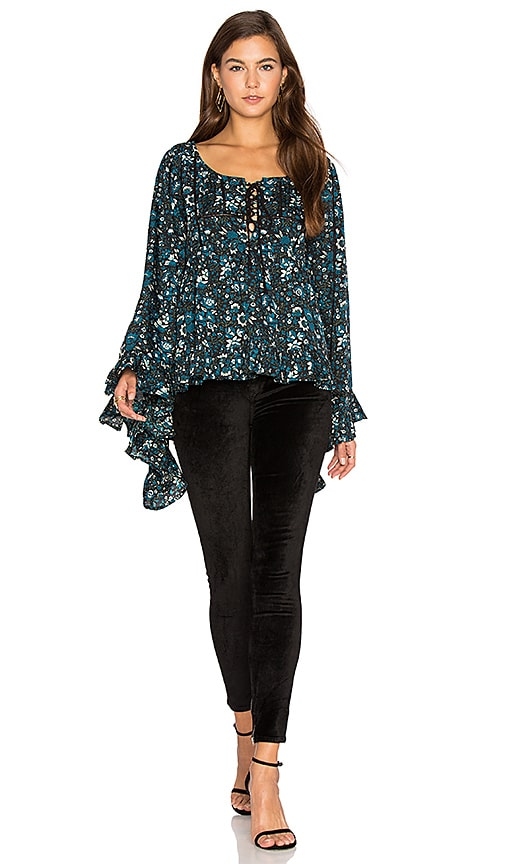 Raga Eloise Blouse in Black