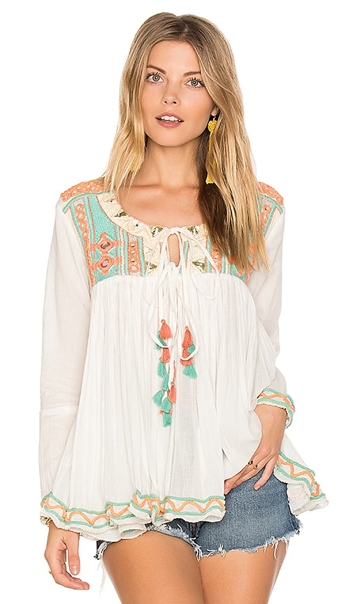 Raga Coastland Blouse in White