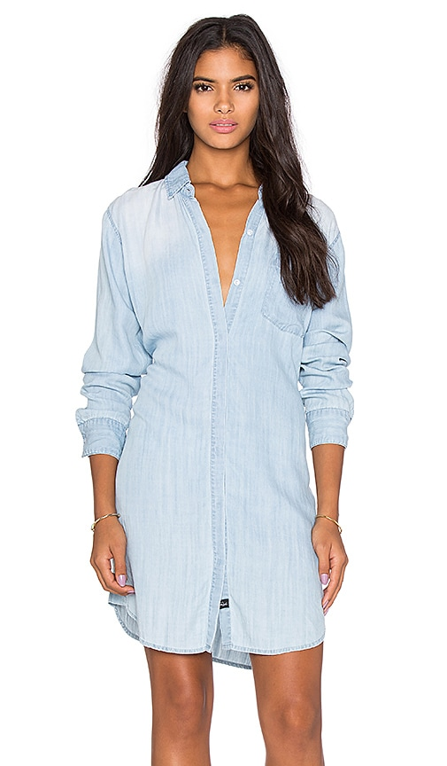Rails Sawyer Mini Dress in Light Vintage Wash