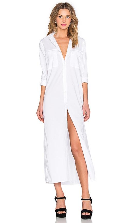 Rails Dusty Maxi Dress in White