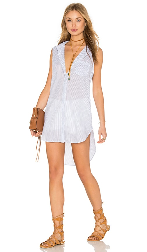 Rails Layla Tank Dress in White
