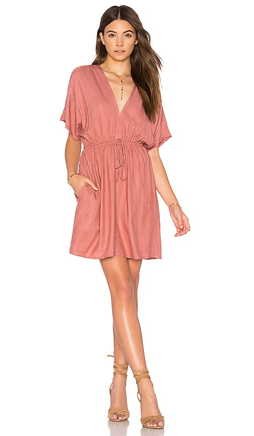 Rails Capri Mini Dress in Rose